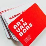 Art Van Bors Visitenkarten